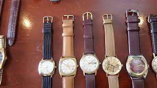 7/1/2019. Bán 9 đồng hồ lên dây omega, longin.. Thụy sỹ, bọc vàng, lacke) (bãi Nhật) Toàn 0947350055