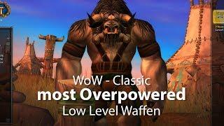 WoW Classic - Overpowered Low Level Waffen (Deutsch / German)