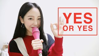 트와이스 (Twiceトゥワイス) - YES or YES , Cover by 네버다희 Never dahee