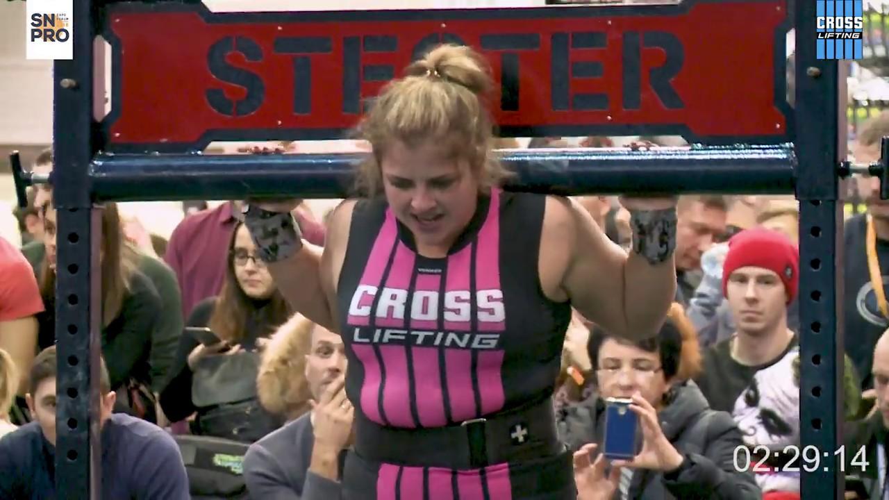 2018 Crosslifting WORLD CUP / Women +75 kg