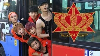 TEEN TOP(ComeBack Stage) - Miss right, 틴탑(컴백 무대) - 긴 생머리 그녀, Music Core 201