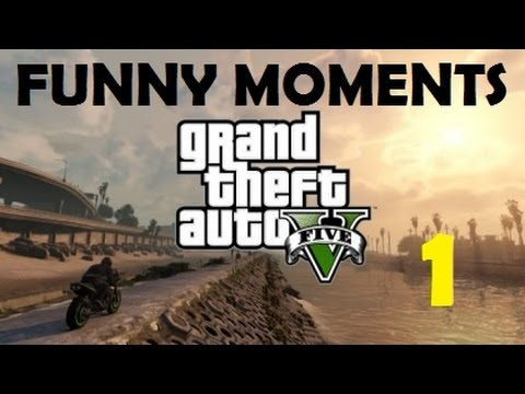 GTA V FUNNY MOMENTS Ep. 1! Heists and Baby Oil!