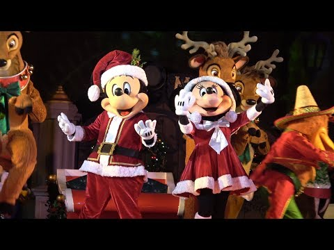 Christmas Party At Disney World 2017!! | Mickey's Very Merry