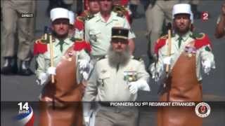 LEGION ETRANGERE : DEFILE LE 14 JUILLET 2013, A PARIS .HD1080p