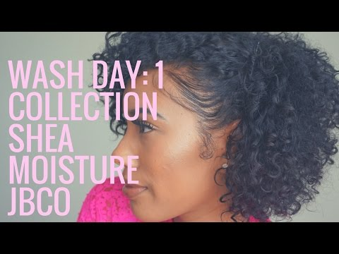 1 Collection Series: Wash Day Shea Moisture Jamaican Black Castor Oil Line