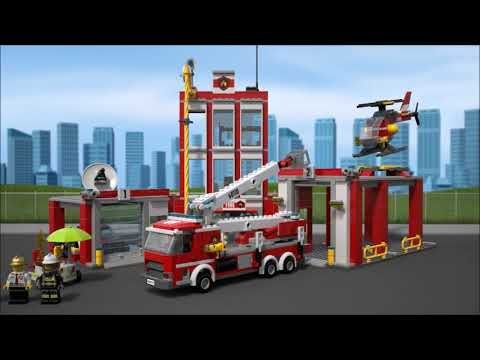 LEGO 60110 CITY Brandweerkazerne @2TTOYS