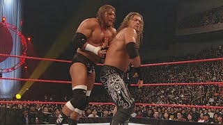 Triple H defends the World Heavyweight Title against Edge in Japan: Monday Night Raw, Feb. 7, 2005