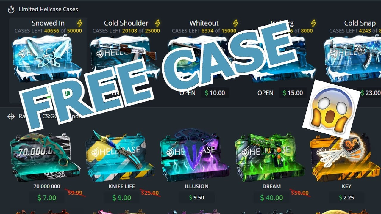 Hellcase Free Case