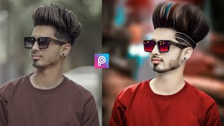Picsart New Hair Style Editing || Picsart Hair + White Face Photo Editing || Picsart Hair Editing