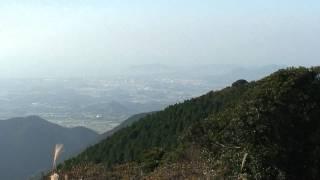 西山(鮎坂山) 645m 犬鳴山系の主峰