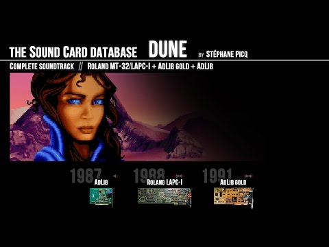 DUNE Soundtrack (by Stéphane Picq) on Adlib + MT-32 + Adlib Gold