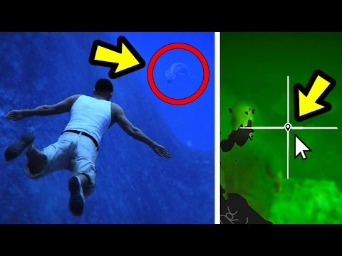 I SAW THE SEA MONSTER IN GTA 5!! (Caught on Camera)