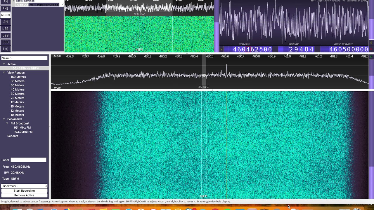 P25 Decoding with CubicSDR and DSD+