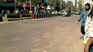 Ex Indian President Pranab Mukherjee convoy in Chittagong (Bangladesh)