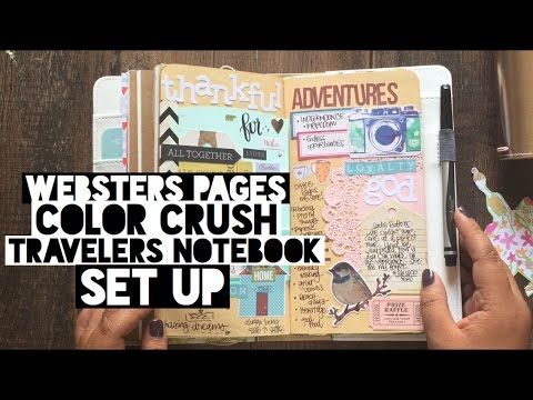 Notebook With Colored Pages Cool Websters Pages Color Crush Undated ...