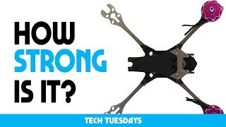 SMASHING a TITANIUM racing drone into a wall | Sonic Evo | Tech Tuesday uavfutures