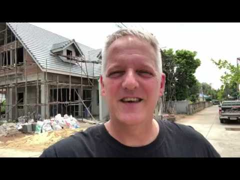 v33 NEW HOME BUILD BURIRAM THAILAND BUILDING A HOUSE PROJECT บ้าน