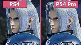 [4K] Dissidia Final Fantasy NT – PS4 vs. PS4 Pro Graphics Comparison