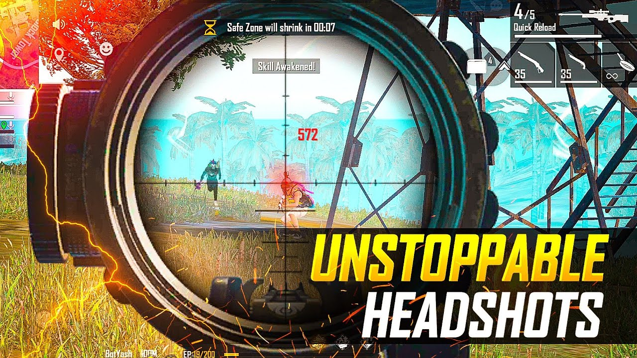 Best AWM Gameplay | Unstoppable Must Watch - Garena Free Fire