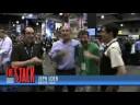 SDCC: Jeph Loeb hugs Pete, CB Cebulski, and James Robinson