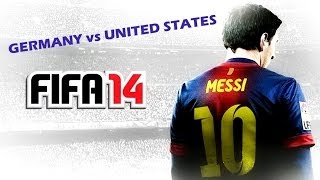 FIFA 14 | Germany vs United States - PC Gameplay