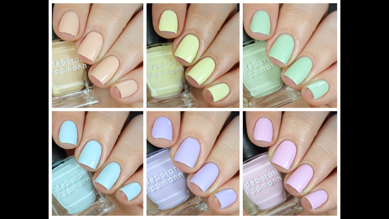 Deborah Lippmann Sweets for My Sweet Collection Review! - YouTube
