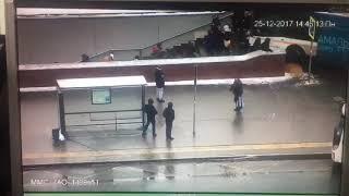 в Москве автобус въехал метро погибли люди  ужас
