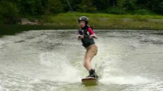 2010/7/18 滝里湖 KsKキャンプ ウェイクボード Wakeboarding.