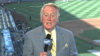 Vin Scully tribute to Verne Lundquist