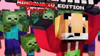 Minecraft | ZOMBIES!!!! | Foxy's Bedrock Survival [3]