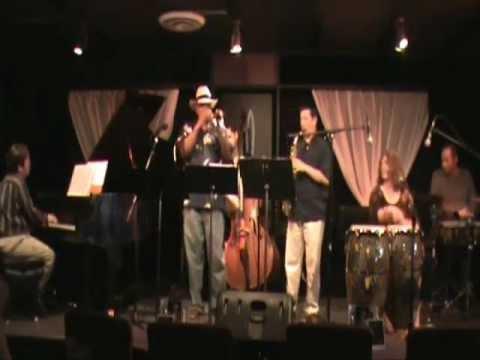 "Janine Santana Sextet~ ""Manteca"" by Dizzy Gillespie and Chano Pozzo"