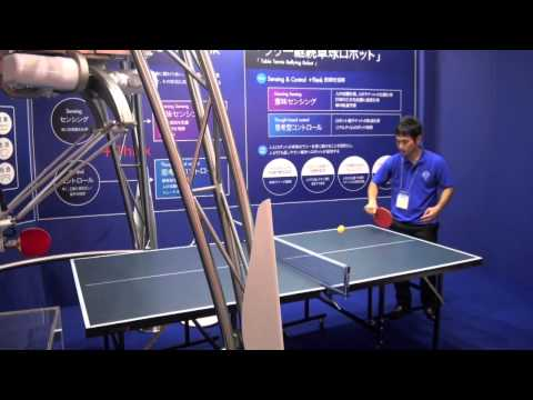 Omron's table tennis robot built to rally