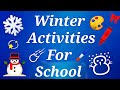 Paper craft -Easy and creative Winter Activities |paper art | DIY Fun Idea - Christmas craft