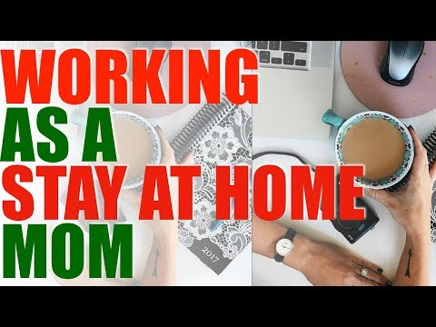 Working As a Stay At Home Mom | VLOGMAS DAY 5