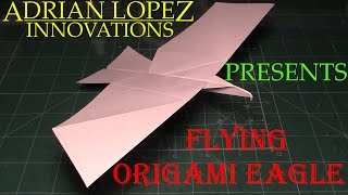 How to Make a Flying Eagle Paper Airplane, BEST paper planes in the world