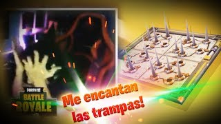 "Me encanta ""poder"" poner trampas en FORTNITE BATTLE ROYALE"