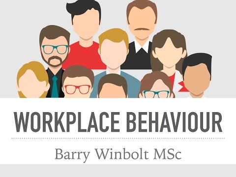 Barry Winbolt on Difficult Behaviour in Organisations