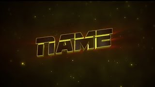 Free 3D Intro #12 | Cinema 4D/AE Template