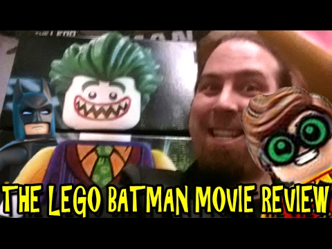 the lego batman movie review - youtube