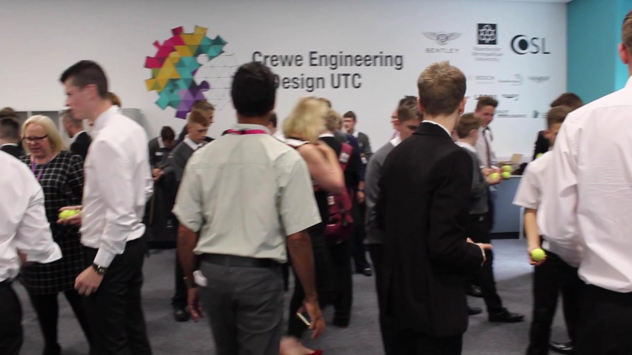 Crewe Engineering Design Utc Induction Day 2016 Youtube