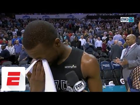 Kemba Walker gets emotional after passing Dell Curry as Hornets' all-time scoring leader | ESPN