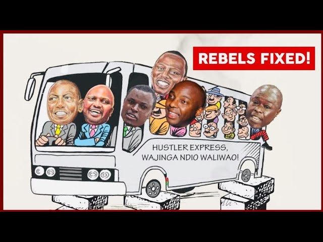 Ruto+Fellowship of Thugs!