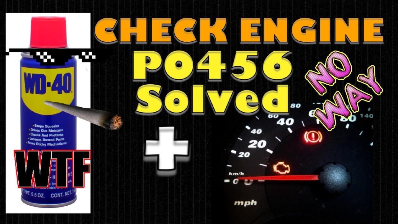 Check Engine Light Problem Solved Code P0456 Youtube Fuse Diagram For 2000 Mercury Grand Marquis