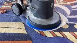 видео Химчистка ковровых покрытий