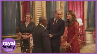The Duke And Duchess Of Cambridge Welcome African Leaders At Glittering Buckingham Palace Reception