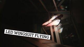 LED Wingsuit Flying: Dancer in the Dark 4K