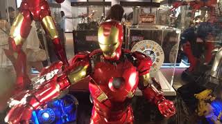 HOT TOYS DISPLAY SHOW AT BUGIS JUNCTION SINGAPORE AUGUST 2019