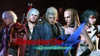 Devil May Cry 4 Special Edition - Character Gameplay Showcase