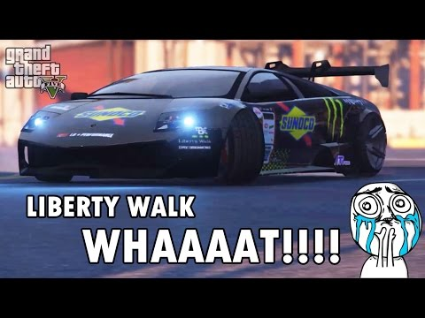 Lamborghini Murcielago SV Liberty Walk In GTA 5
