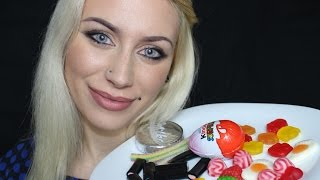 ASMR Eating Sounds | Whisper | Candy / Chocolate